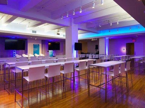 "Metropolitan Pavilion ""The Level"" Premier Special Event Production Services in New York City"