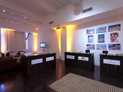 """Metropolitan Pavilion """"The Suite"""" Premier Special Event Production Services in New York City"""