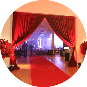 Furniture rental and draperies Metropolitan Events Venues in New York City