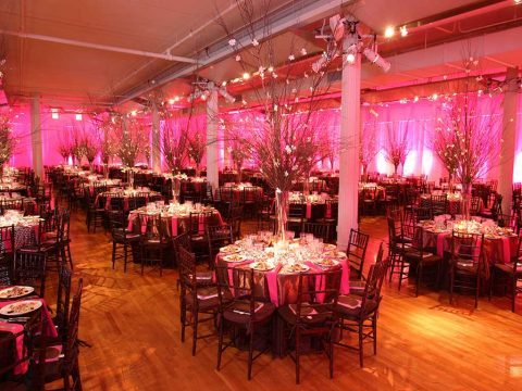 Metropolitan Pavilion's ground floor event space, Chelsea, New York City