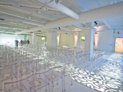 Metropolitan Pavilion's Gallery event space in Chelsea, New York City