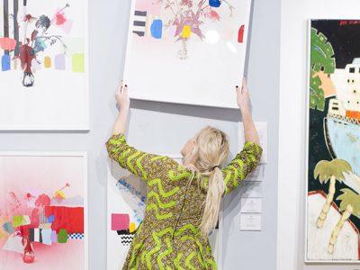 Affordable Art Fair NYC at Metropolitan Pavilion