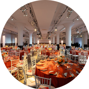Special event catering Metropolitan Pavilion New York City